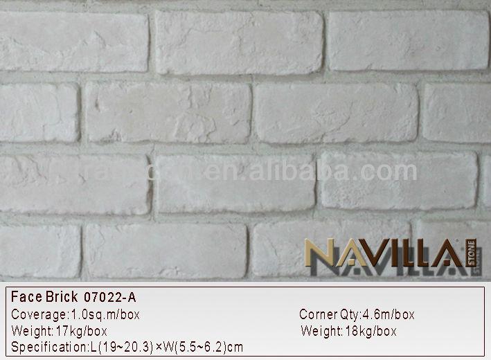 Brique de parement intérieur extérieur décoratif briques 07022-A ...