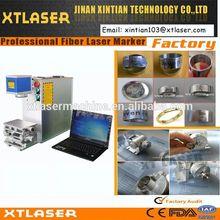 10w portable fiber laser marking company logo/product model machine on jewelry