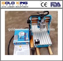 2015 new mini CNC engraving machine, 4 axis cnc router machine GK-3040