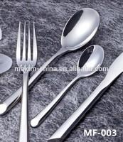 MF003 18/10 Stainless steel material flatware series
