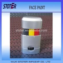 Belgium flag face paint,halloween face paint ideas