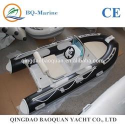 3.5m fiberglass speed inflatable boat RIB 350