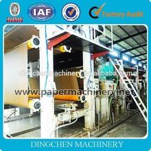 Zhengzhou Dingchen HOT SALE ,copy paper making machinery,A4 copy paper machine made by china manufacturer