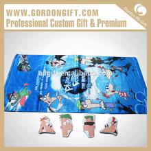 2015 China 100% cotton wholesale custom bath towel/compressed towel/magic towel