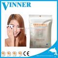 25/30pcs señora toallitas removedor de maquillaje o compensar la eliminación para limpiar la cara y los ojos