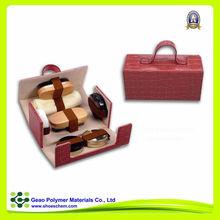 widly used good quality high class shoe polish set, shoe and bag set