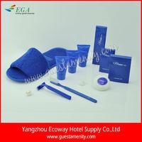 5-star hotel bedroom amenity set/toiletries disposable hotel amenities