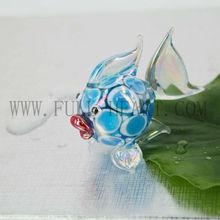 Aquarium miniature handmade art glass fish figurine