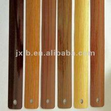 wood grain aluminium slats for window materials
