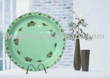 Cheap melamine dinner plate