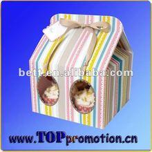 Fashion style customised popular cake packing box