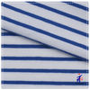 Hot sale blue white stripes 95 cotton dyed yarn fabric