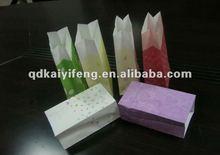 Blank kraft paper bag withno handle