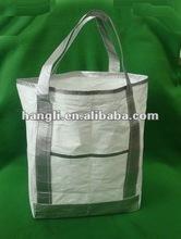 Tyvek laundry bag of basket