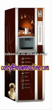 Automatic coin operated coffee vending machine for KFC