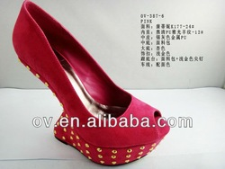 2013 New ladygaga fashion Peep Toes lady shoes OV-387-6
