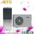 Pompa de calor de la fuente de aire, precio unitario de la bobina del ventilador
