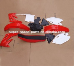 various dirt bike body parts year 2004 CRF250 motorcycle fairings for sale