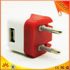 EU plug mobile phone wall charger for iphone (US plug available)