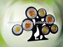 MDF family decorate tree photo frame