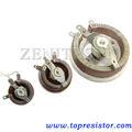 Potencia ajustable reóstato/potenciómetro giratorio