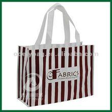 Promotional laminated photo print shopping bag