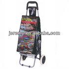 New Design shopping cart Printing PVC shopping trolley