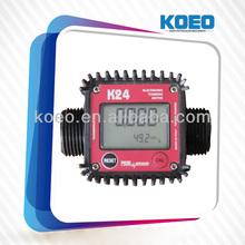 K24 Electronic Digital Turbine Flow Meter/diesel ,Gasoline and Kerosene Flow Meter,Air Flow Meter,Flowmeter