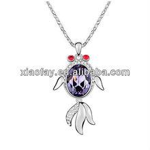 2012 Hot Sale Austria crystal fashion women's necklace*wholesale