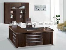 2012 the most hot melamine walnut executive desk/office desk