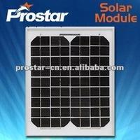 high quality 140w 24v mono solar panel