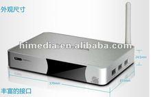 Latest Stylish HiMedia Android 4.1 skype IPTV Smart TV Box