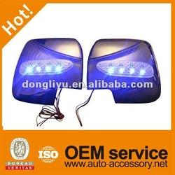 Toyota hiace chrome LED side mirror covers