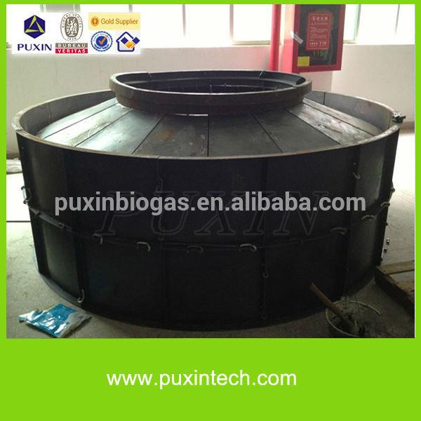 Puxin 4m3 dimensione della famiglia piccolo impianto di biogas sistema