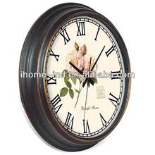 2012 hot sale new design Antique Wall Clock(IH-6031)