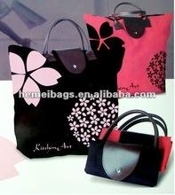 2014 Creative Design Collapsible Foldable Promotional bags Handbag storage bag