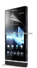 Ultra clear screen protector for Sony Xperia ion LT28i(Manufacturers selling and wholesale)