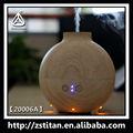 Difusor de aceites esenciales/llevó la luz& de impresión de madera difusor de aroma