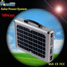 Jane Rural area 10W portable solar system with lighting kit