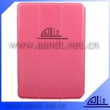 fashion 360 degree rotating cases for ipad mini pu cover