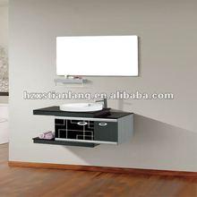 modern stainless steel bathroom cabinet vanity