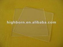 Transparent Thin Quartz Plate/Sheet