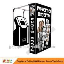 Inicio de una pequeña empresa con Photobooth de la máquina expendedora