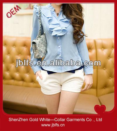 2014 de moda de estilo coreano de uniformes de oficina de los diseños para las mujeres