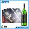 personalizzati o liquore bottiglia di vino di stampa di etichette