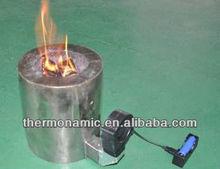 Generador termoeléctrico para madera o de pellets de biomasa cocinar estufa