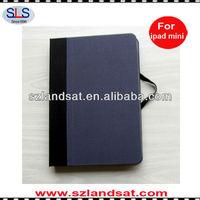 hot sale book style case cover for apple ipad mini IBC23A