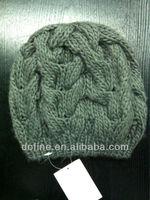 BSCI Ladie's Fashion Winter Cabel soft warmer fashion hat, knit beanie