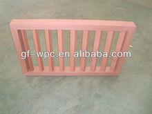 Fashionable WPC material lattice window