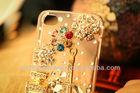 100% handmade luxury diamonds cell phone cases for iphone4